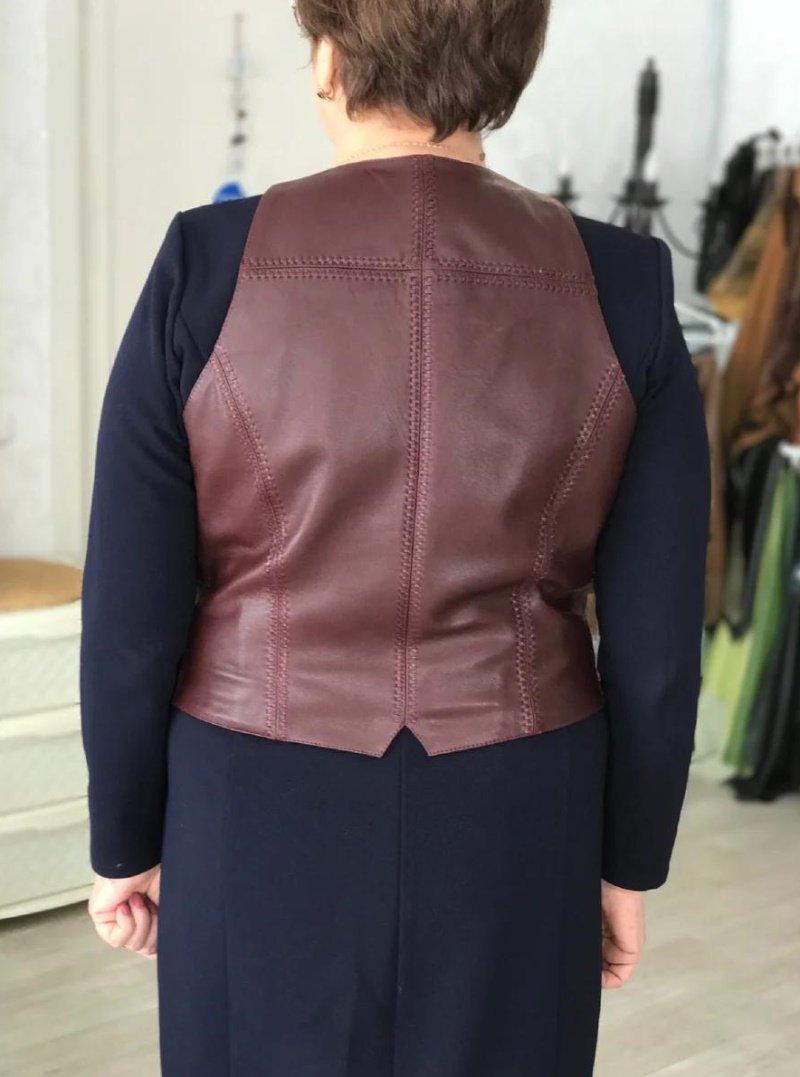 как обновить старую куртку своими руками