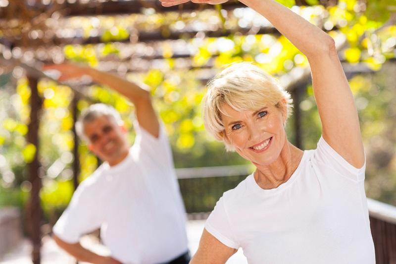cvičenie s cieľom rozvinúť flexibilitu