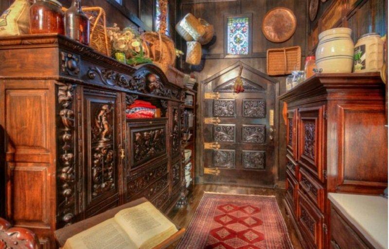 старинный интерьер дома