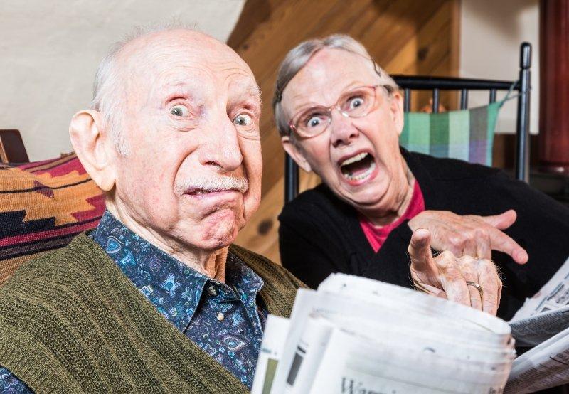 старые родители