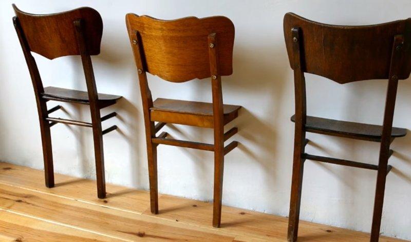 покрасить старые стулья