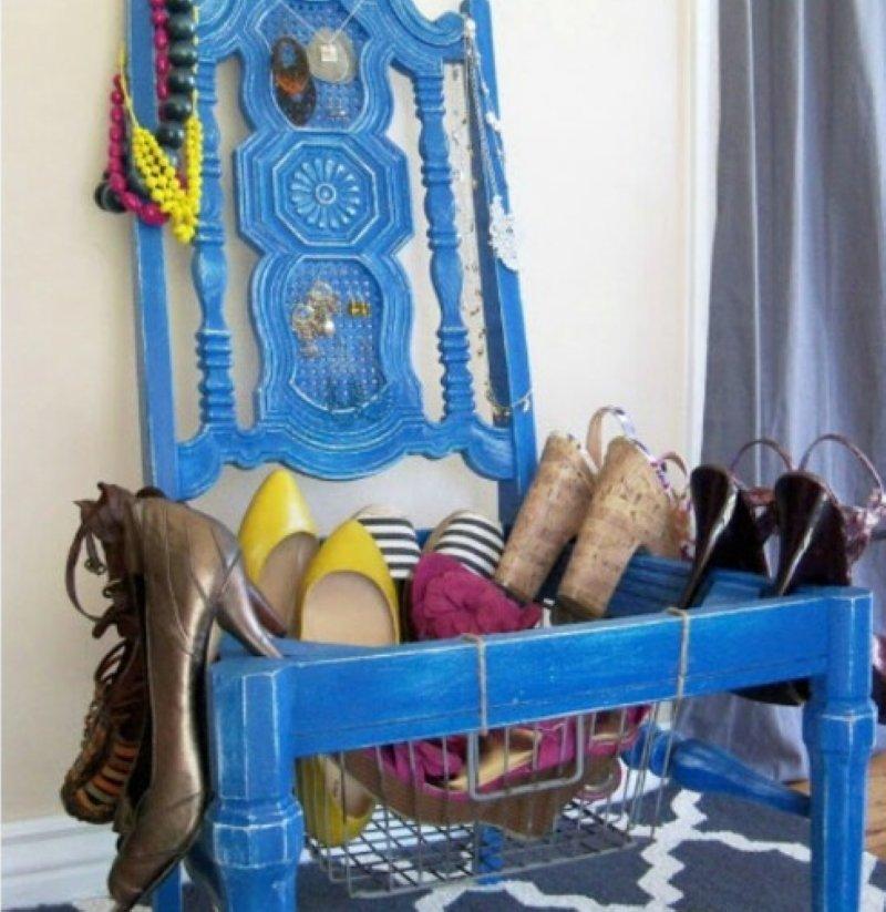 старые стулья переделка