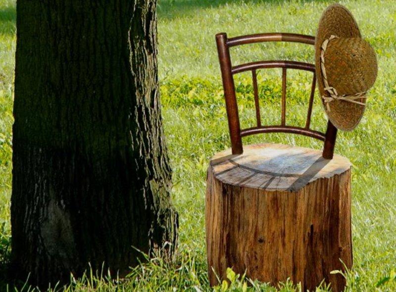 старые барные стулья