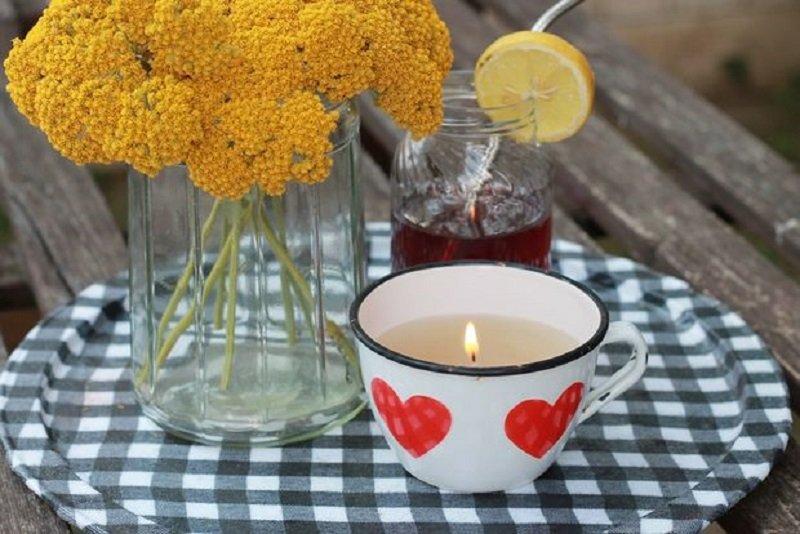 антимоскитная свеча