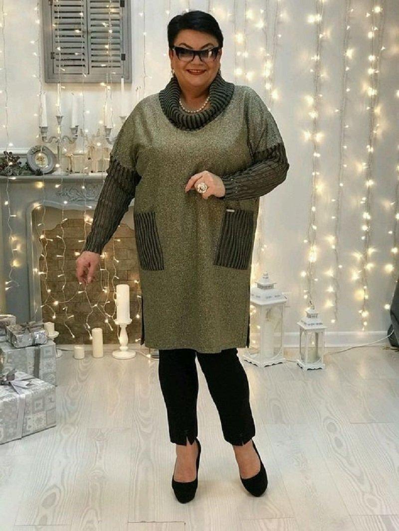 стиль бохо в одежде для полных