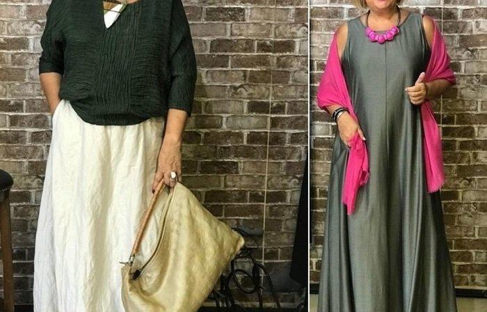 наряды для женщин с широкими бедрами