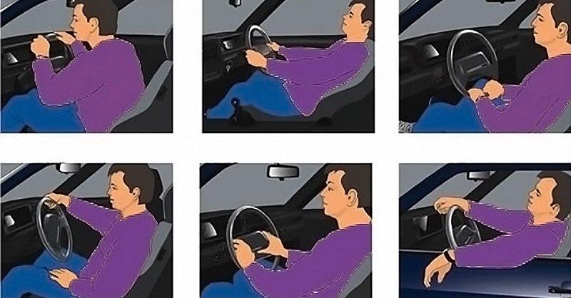 стиль вождения и характер человека
