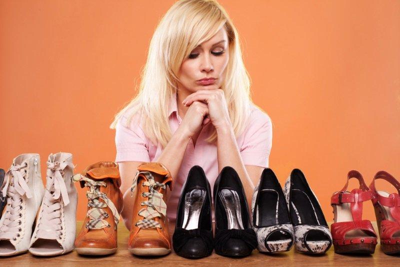 устаревшие модели обуви