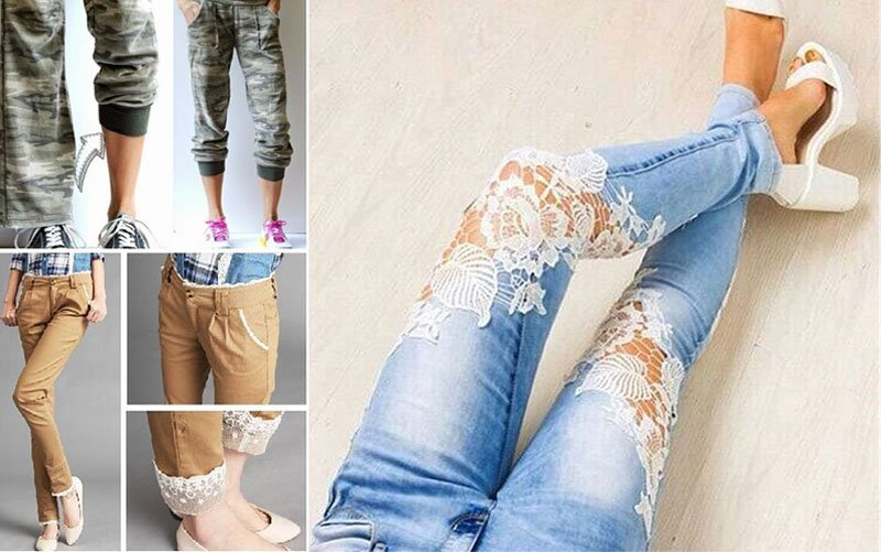 Jeans and pants design