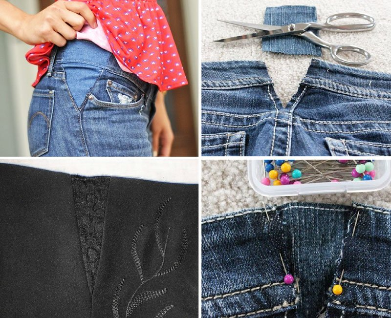 Remaking your favorite jeans