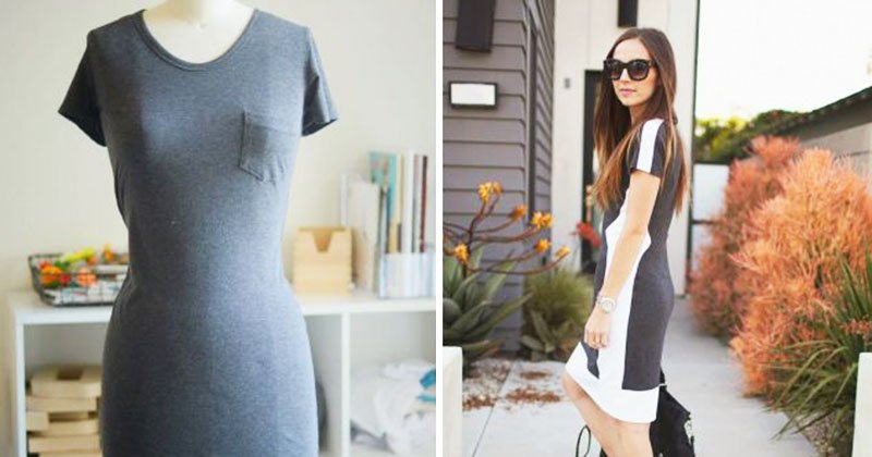 Stylish dress to make your own
