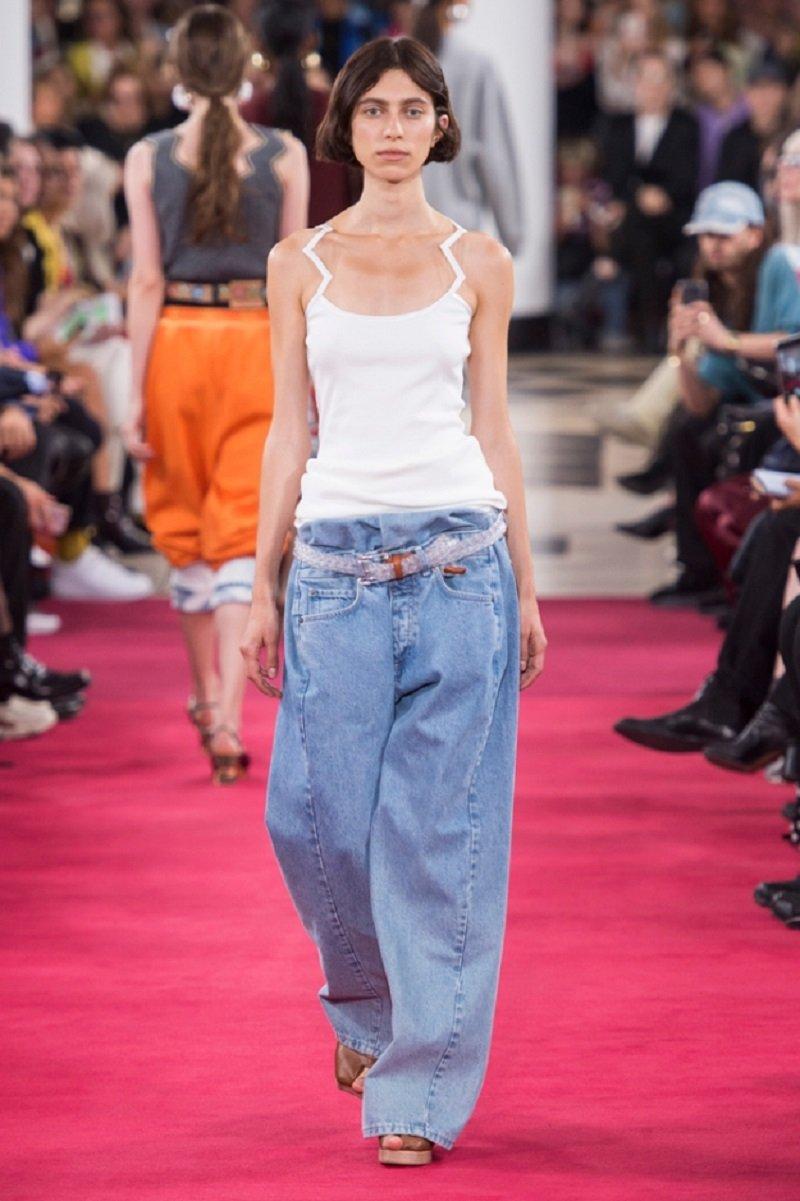 модные джинсы 2019 женские