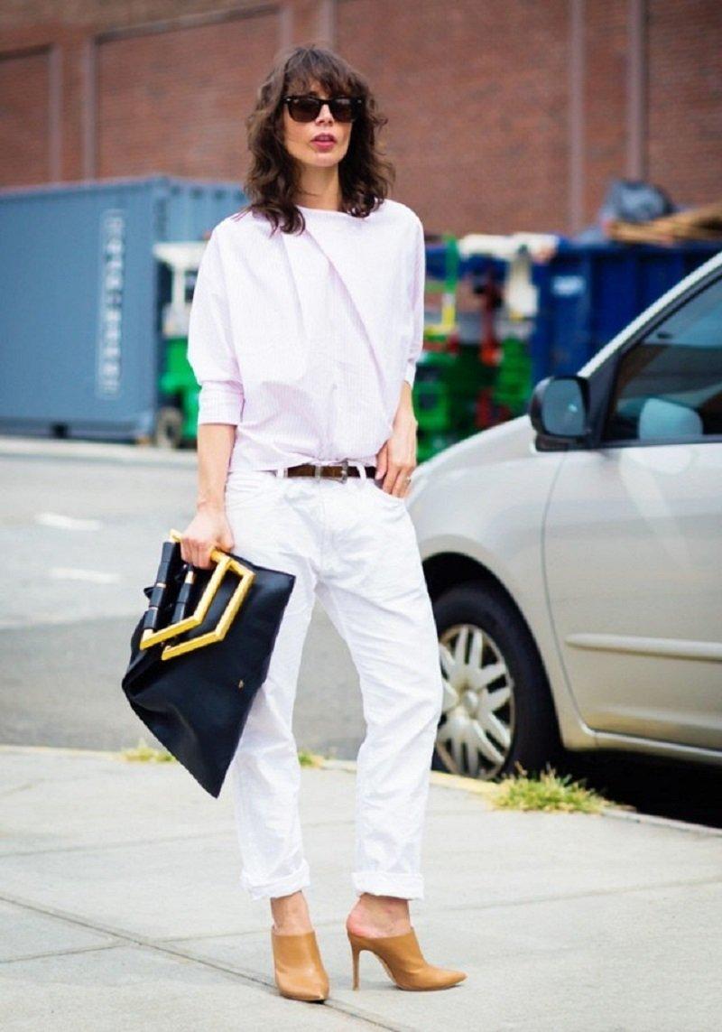 модные джинсы 90-х