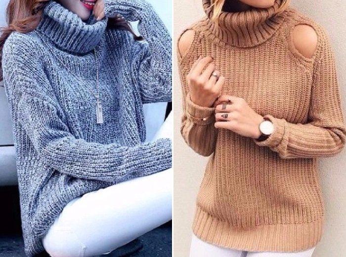 модные свитера 2018