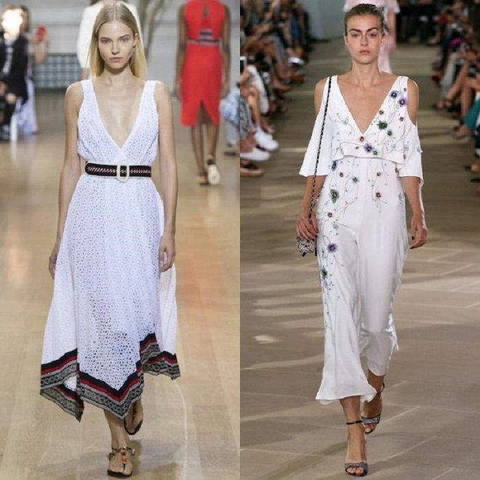 Модные летние платья 2017 для женщин за 40