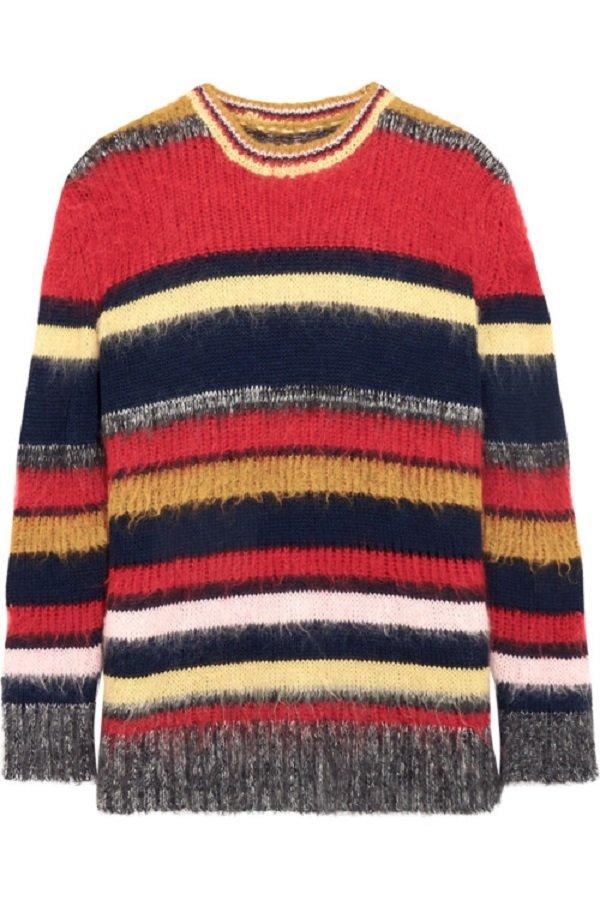 стильные женские свитера спицами