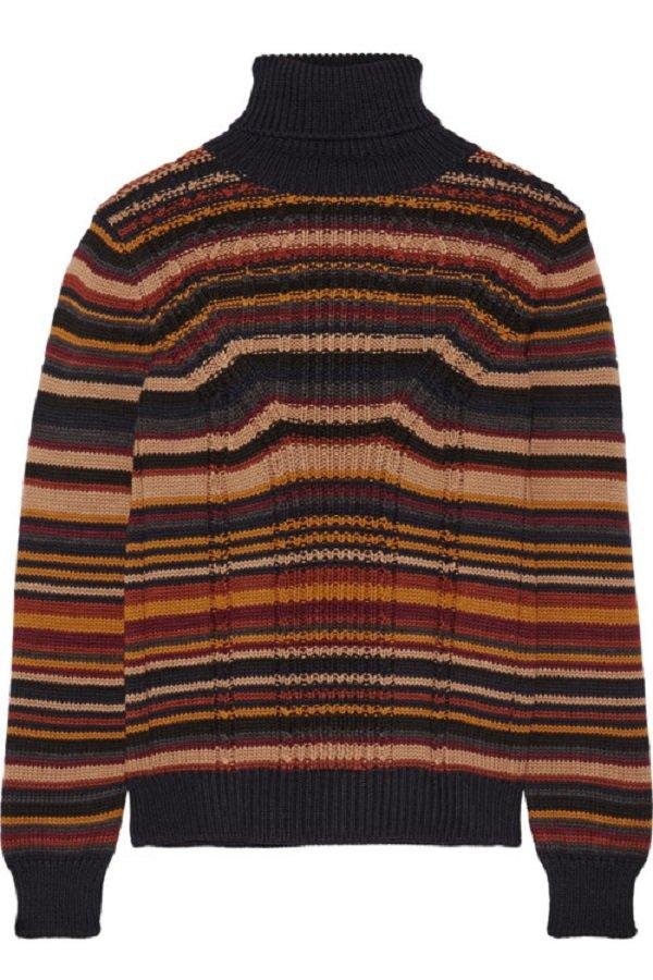 стильные вязаные мужские свитера