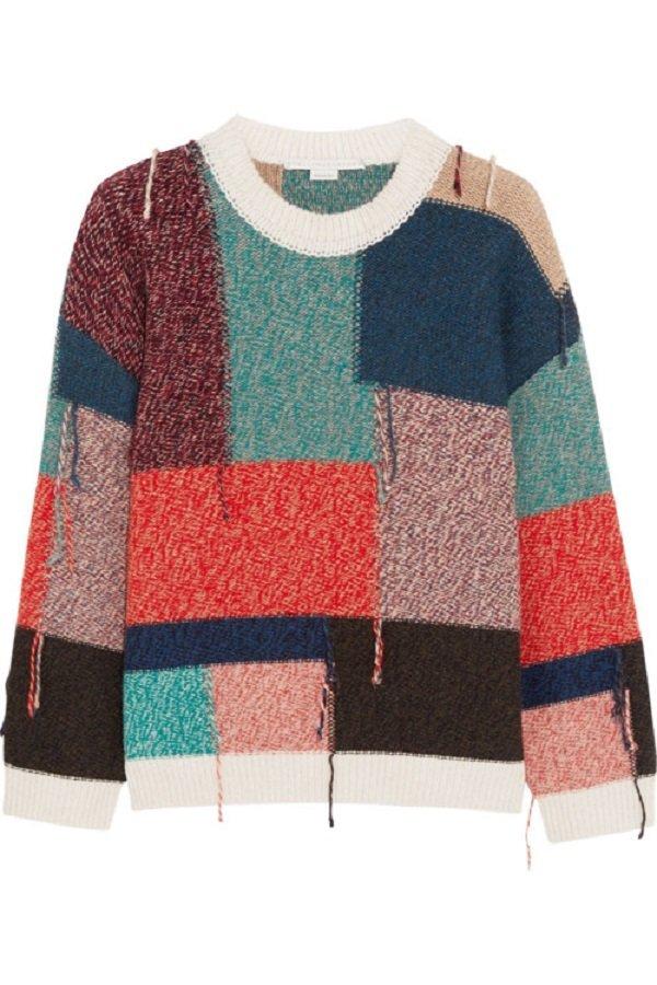 Стильный свитер женский