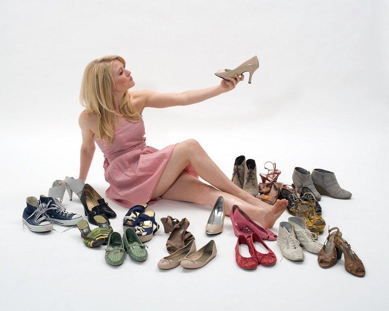 выбор туфель на свадьбу