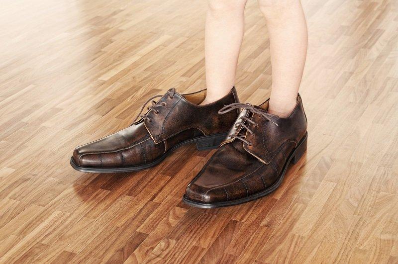 туфли малы как растянуть