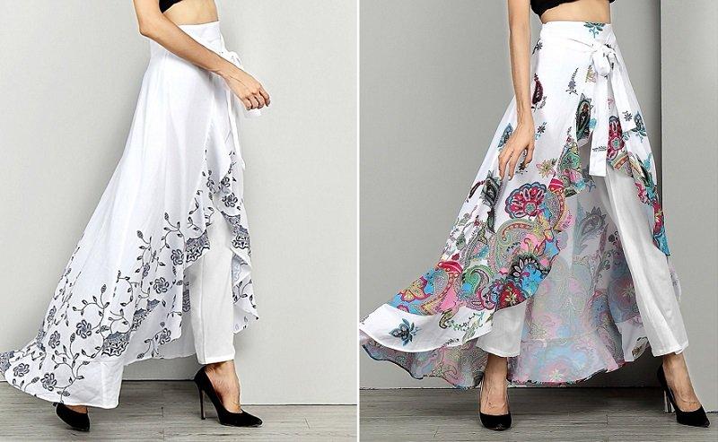 юбка-брюки фасоны