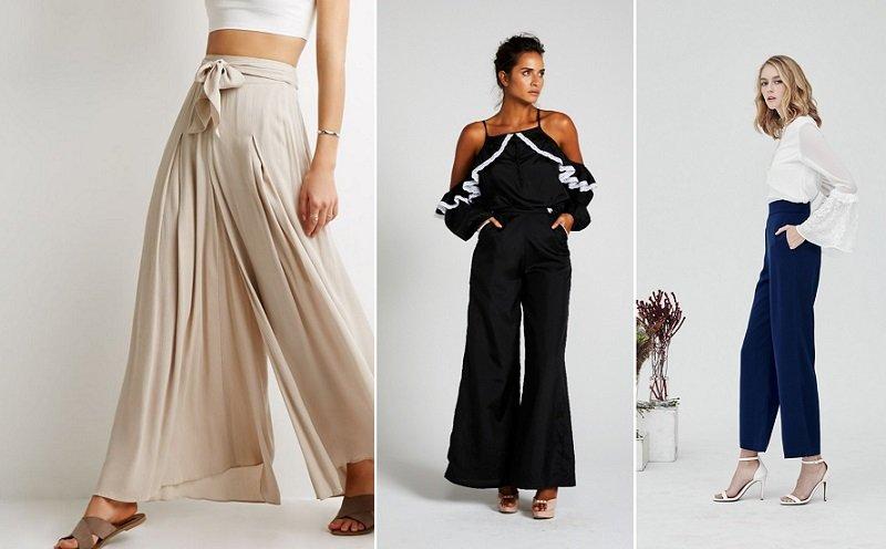 юбка брюки в стиле бохо