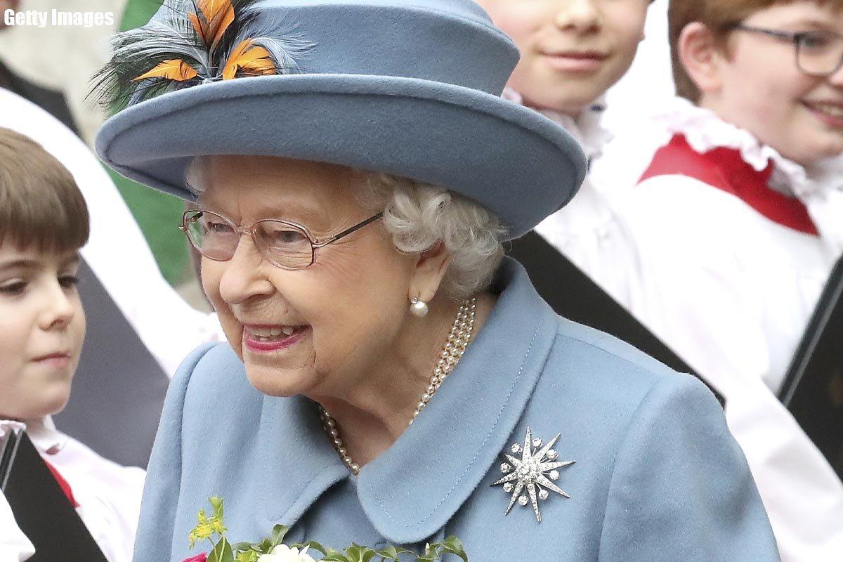 королева елизавета 2 фото