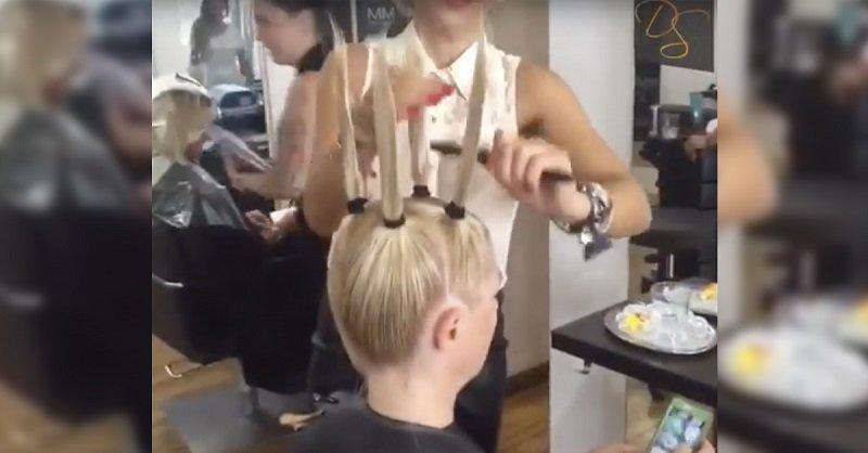 стрижка для объема волос фото