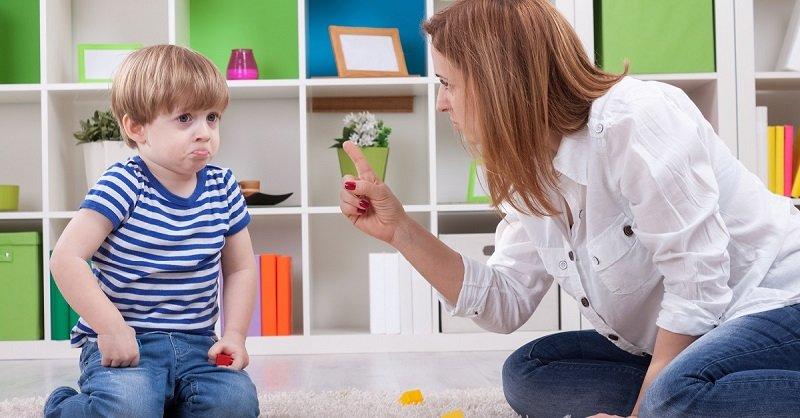 строгое воспитание ребенка