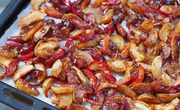 сухое варенье из яблок фото