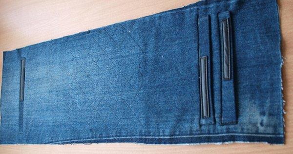 Подари вторую жизнь старым джинсам. Немного фантазии — и новая сумка готова!