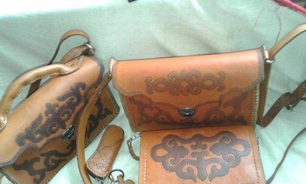 сумки из кожи своими руками фото