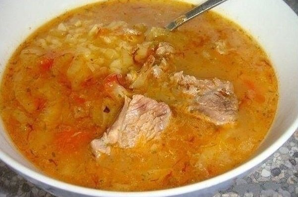 Замечательно-грузинский суп ХАРЧО!!!
