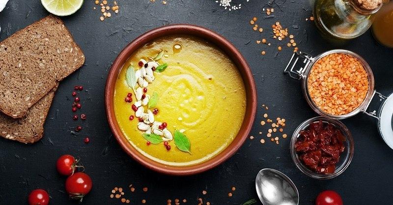 суп с чечевицей красной