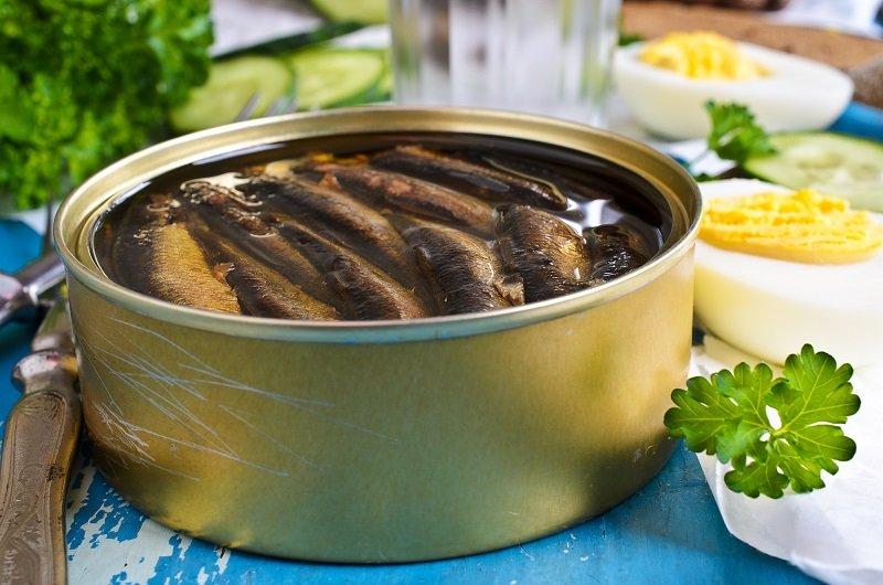 Рецепт супа с рыбными консервами