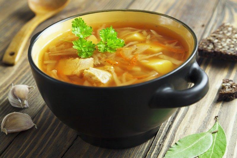 суп с квашеной капустой рецепт