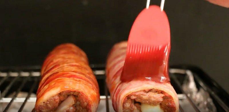 суши с мясом