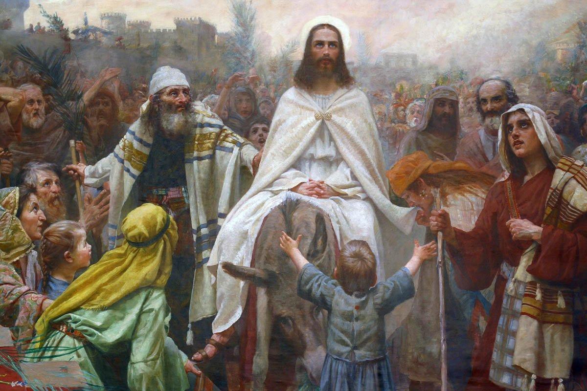 когда благовещение и вербное воскресенье