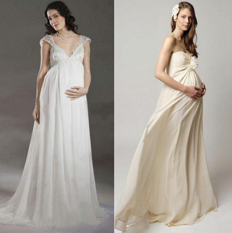 беременная невеста приметы