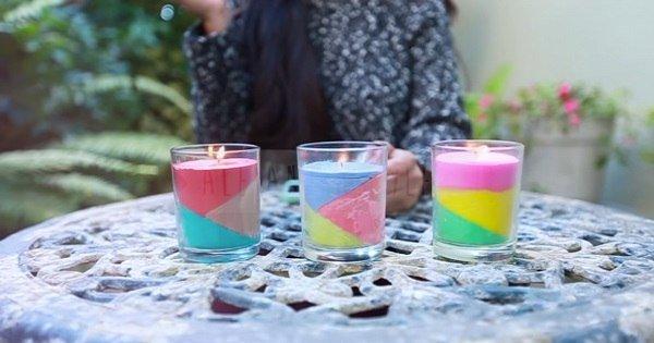 Она налила в стеклянный стакан жидкость своего любимого цвета… Получилась шикарная вещь!
