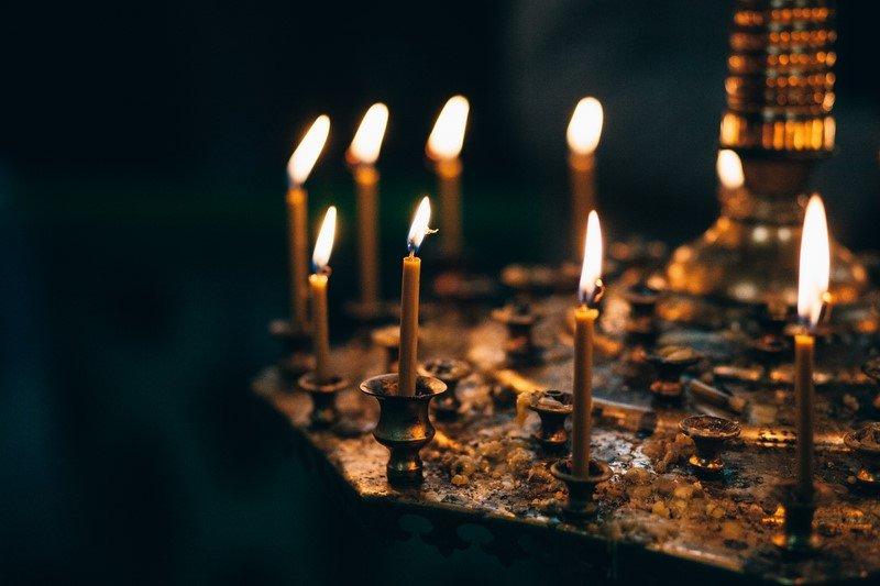 церковные свечи фото