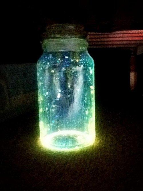 светящиеся банки