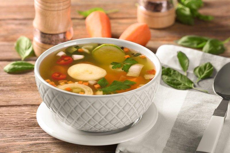 морковная ботва в суп