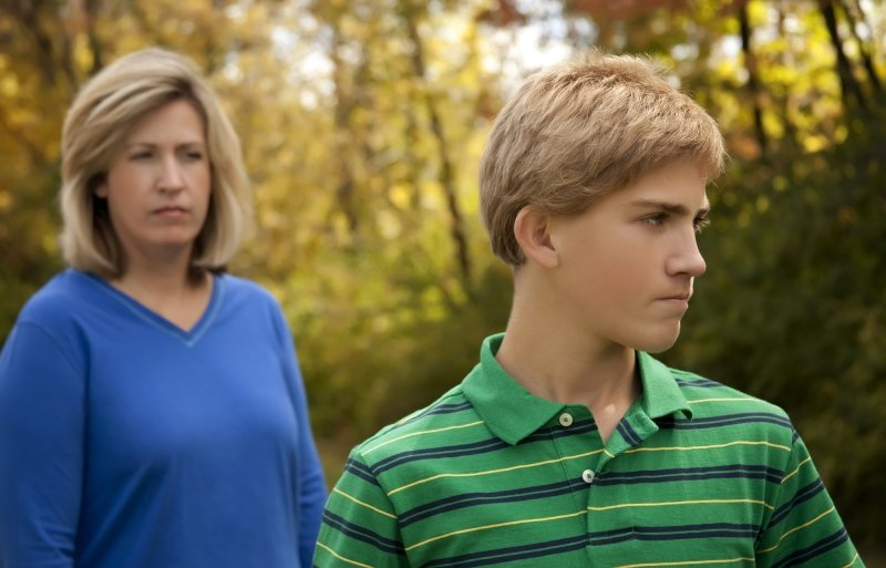 связь с родителями