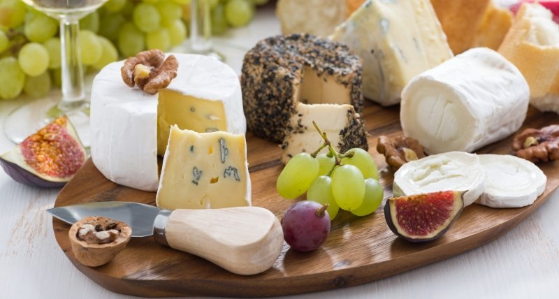 сырная тарелка подача