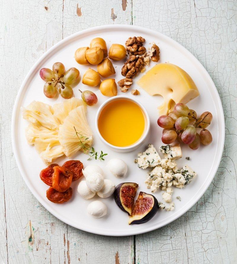 блюда сырная тарелка