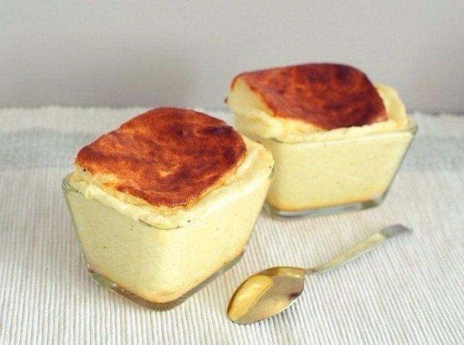 Сырное суфле. Ничего сложного!