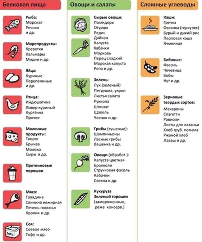 белковая пища