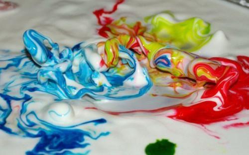 разноцветная жидкость