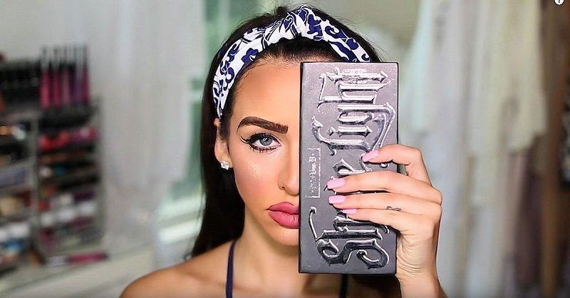 техника макияжа видео